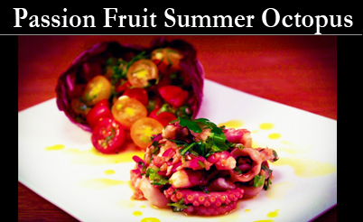 Passion octopus Fruit Vinegars