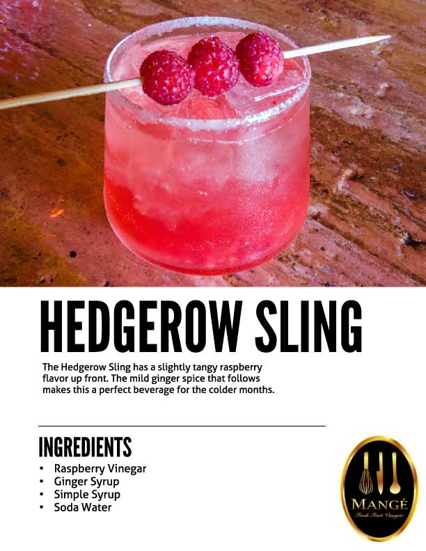 Raspberry Shrub Drinking Vinegar