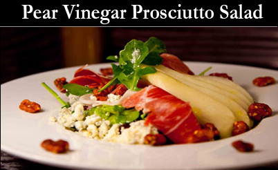 Proscuto pear Fruit Vinegars