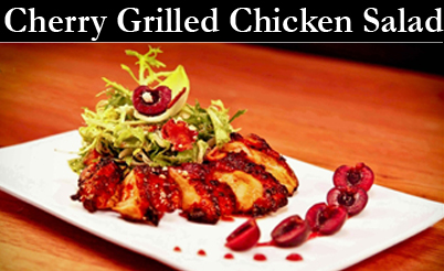 Cherry Chicken Fruit Vinegars