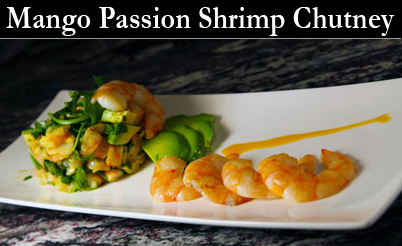 Mango Shrimp Fruit Vinegars